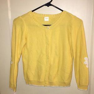 Gymboree yellow jacket girl size M (7-8)